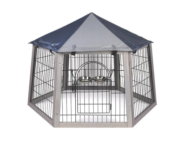 Enclos lapin d 39 ext rieur petit prix avec toit de protection for Parc a lapin exterieur