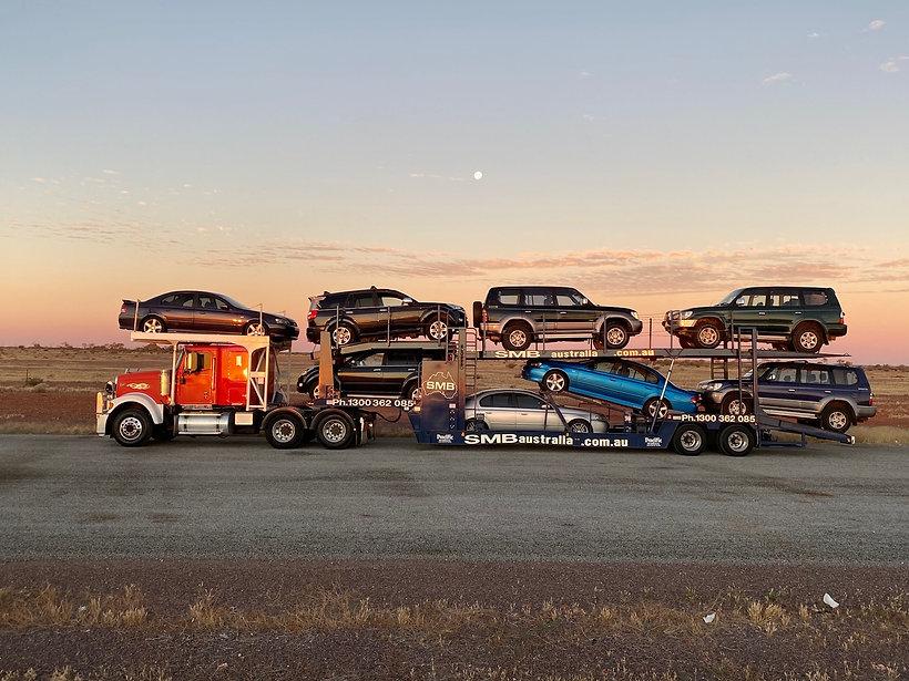 SMB Car Trranspor Truck