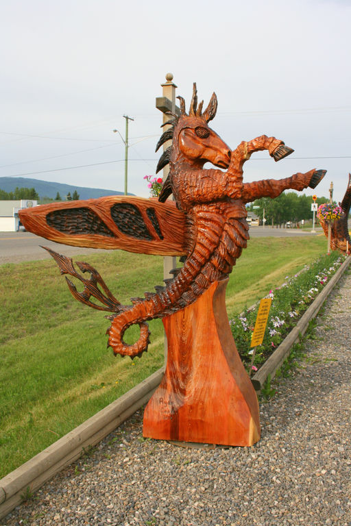 Welcome to the chetwynd chainsaw carving championship