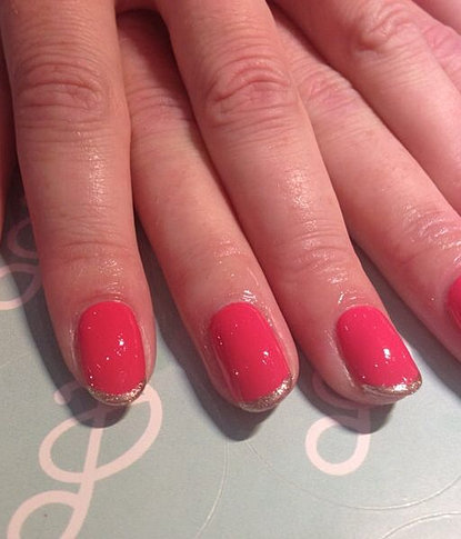 shellac french manicure leeds white henna gelish nails pastille nail