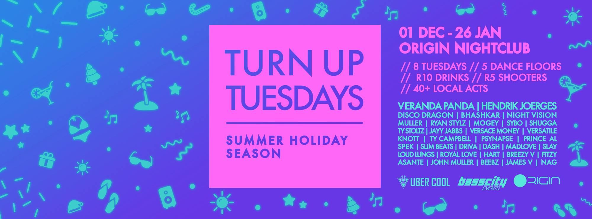 Origin Nightclub, South Africa | Turn up Tuesdays