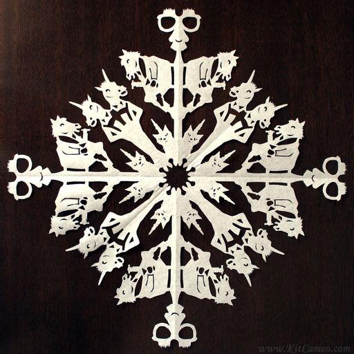 Archie McPhee Snowflake