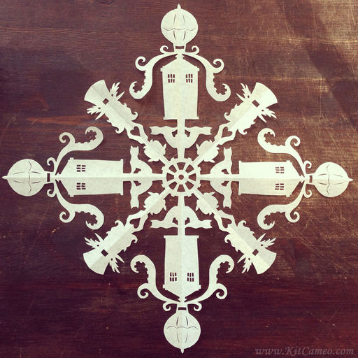 Clockwork Couture Snowflake