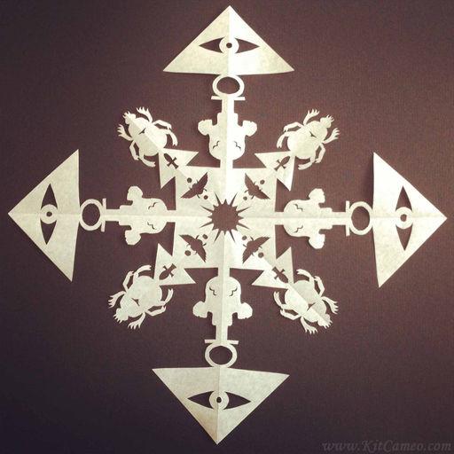 Pyramidflake