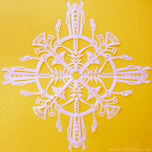 Art Deco Snowflake
