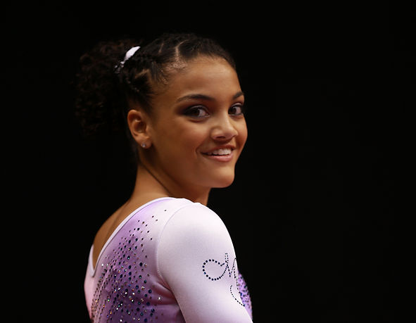 2015 Junior National Champion Laurie Hernandez