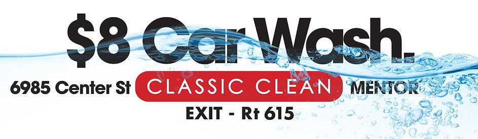 Classic Clean Billboard 14x48 $8 Wash r2
