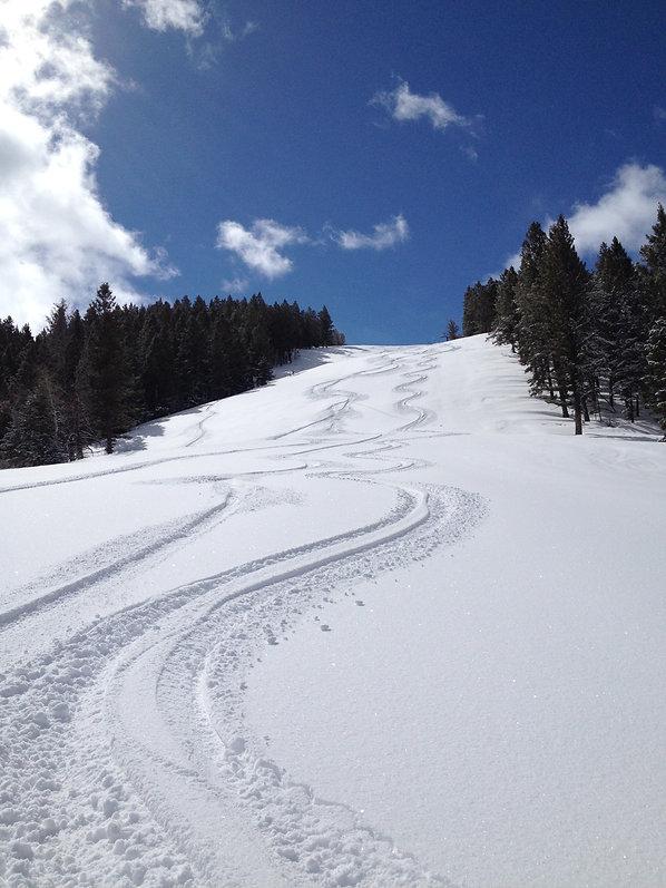 Pine Creek Ski Resort Fresh Tracks.JPG.j