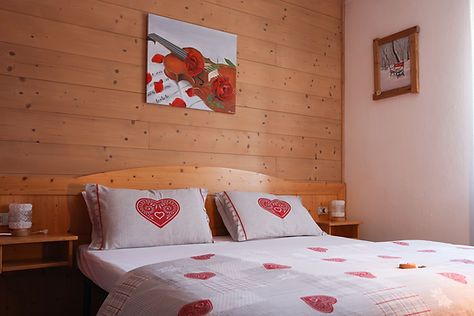 Camera standard albergo b&b belvedere a Predazzo, Val di Fiemme.