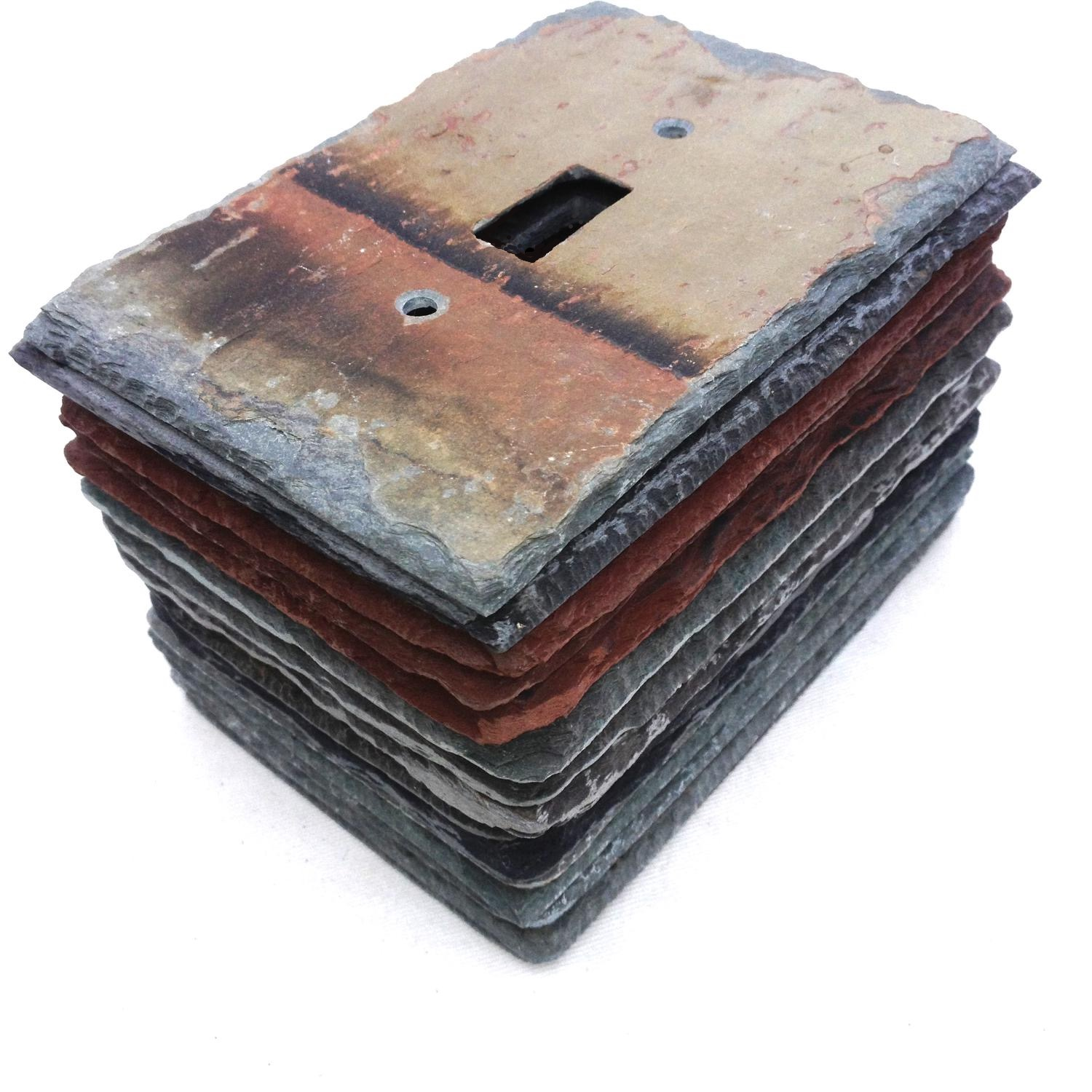 Slate Wall Plates Decorative Light Switch Amp Outlet Covers