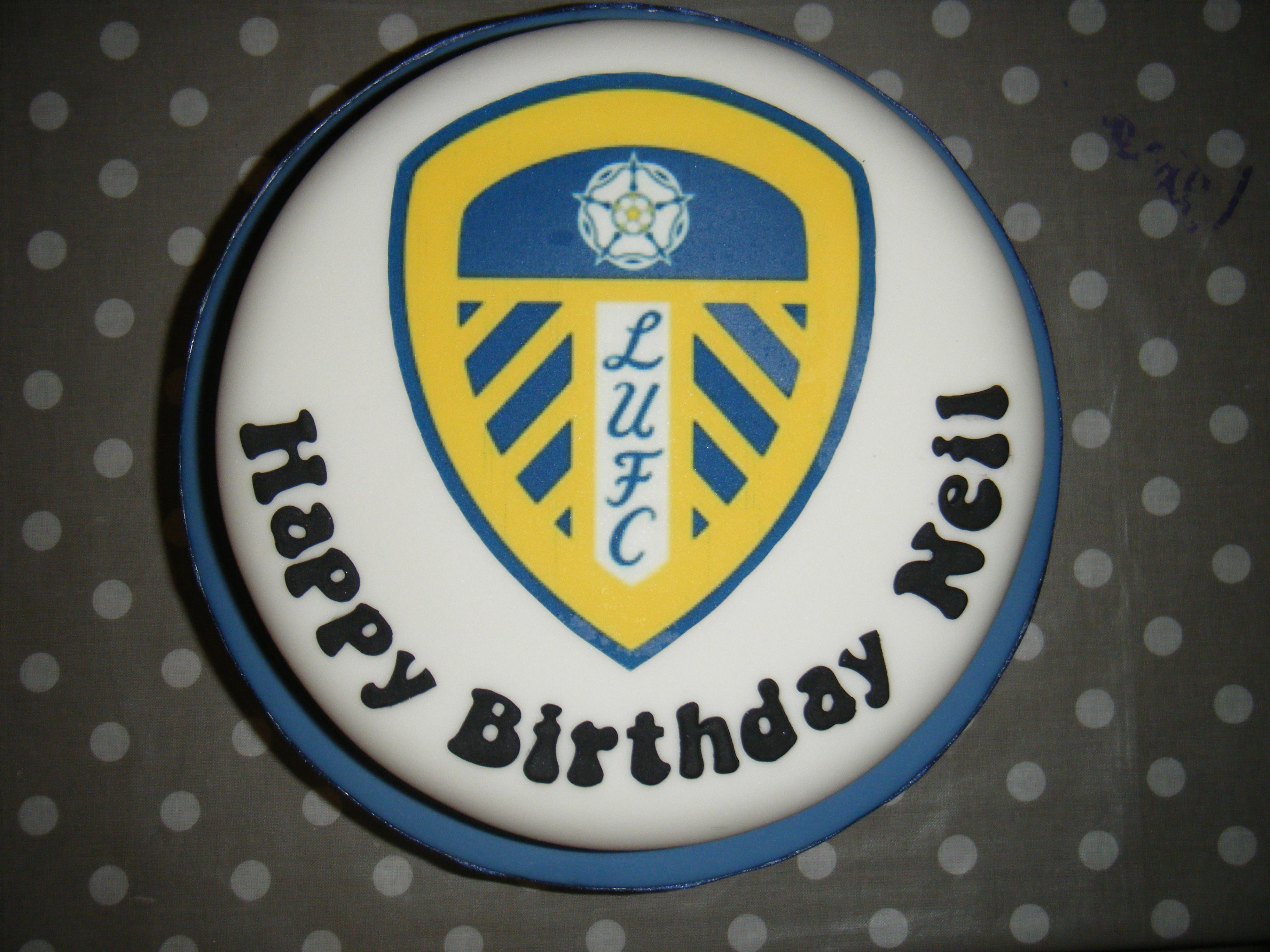 Fluffy Cakes Bespoke Cake Design Leeds Badge Picture Cake