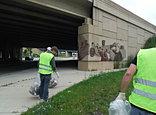 Art Exhibit on the highway