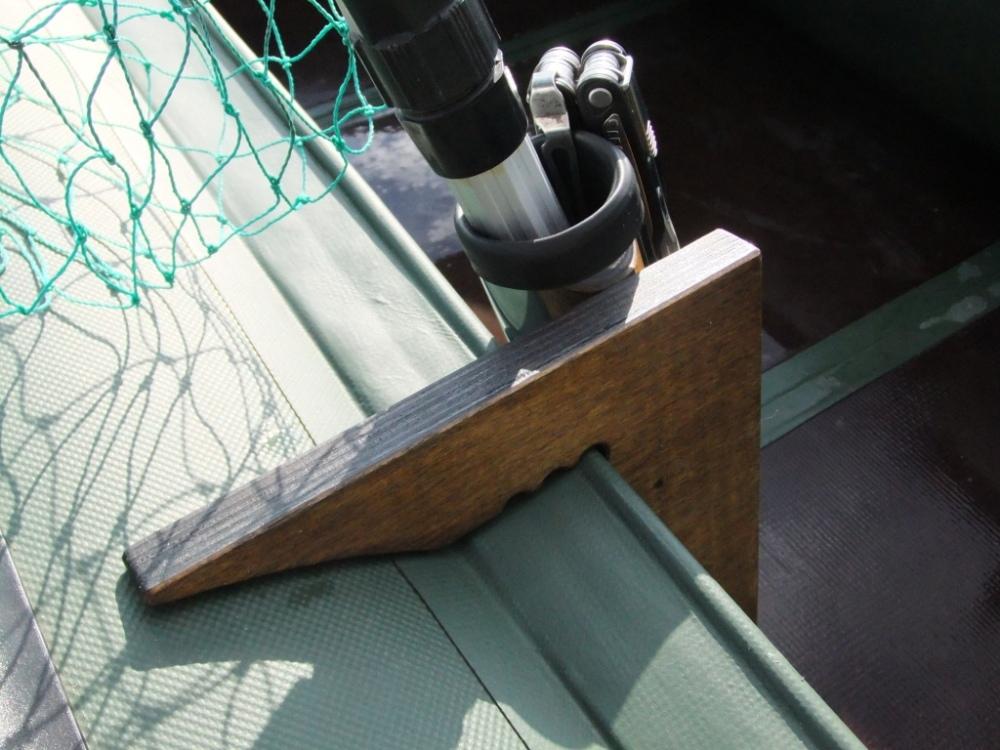 крепление для лодки пвх спиннинг