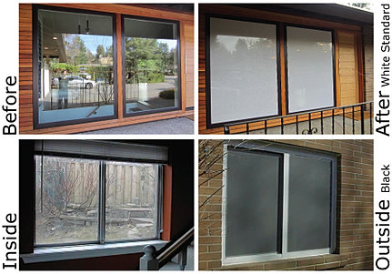 Stop birds flying into windows bird window stickers - Exterior window tint for homes ...