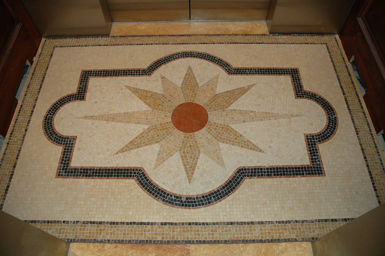 fourpoints (marble mosaic)