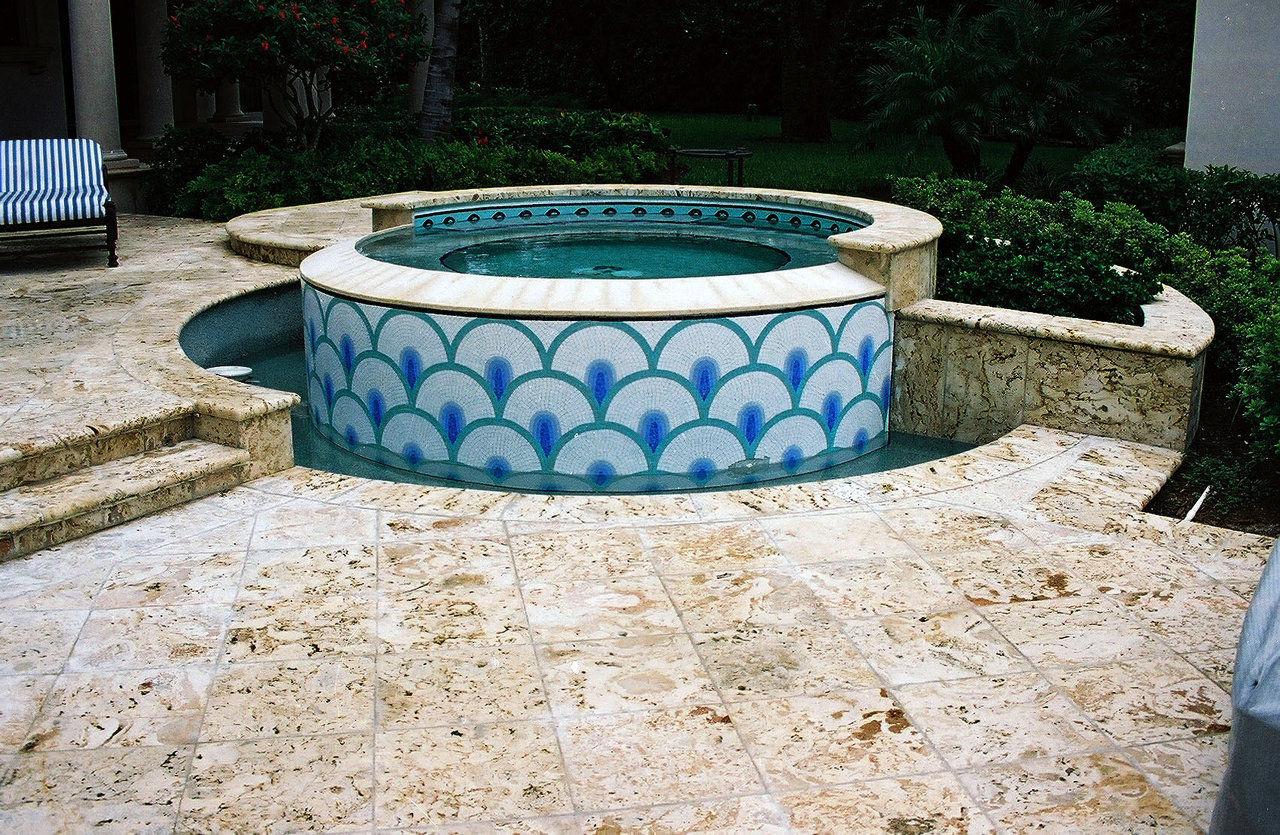 drops (glass ool mosaic)
