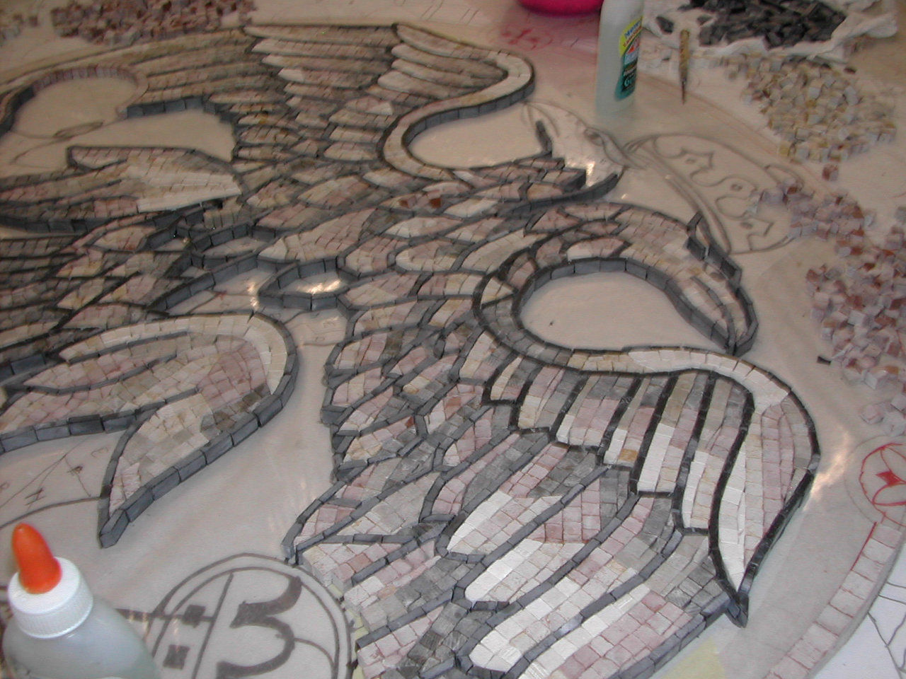 working on eagle