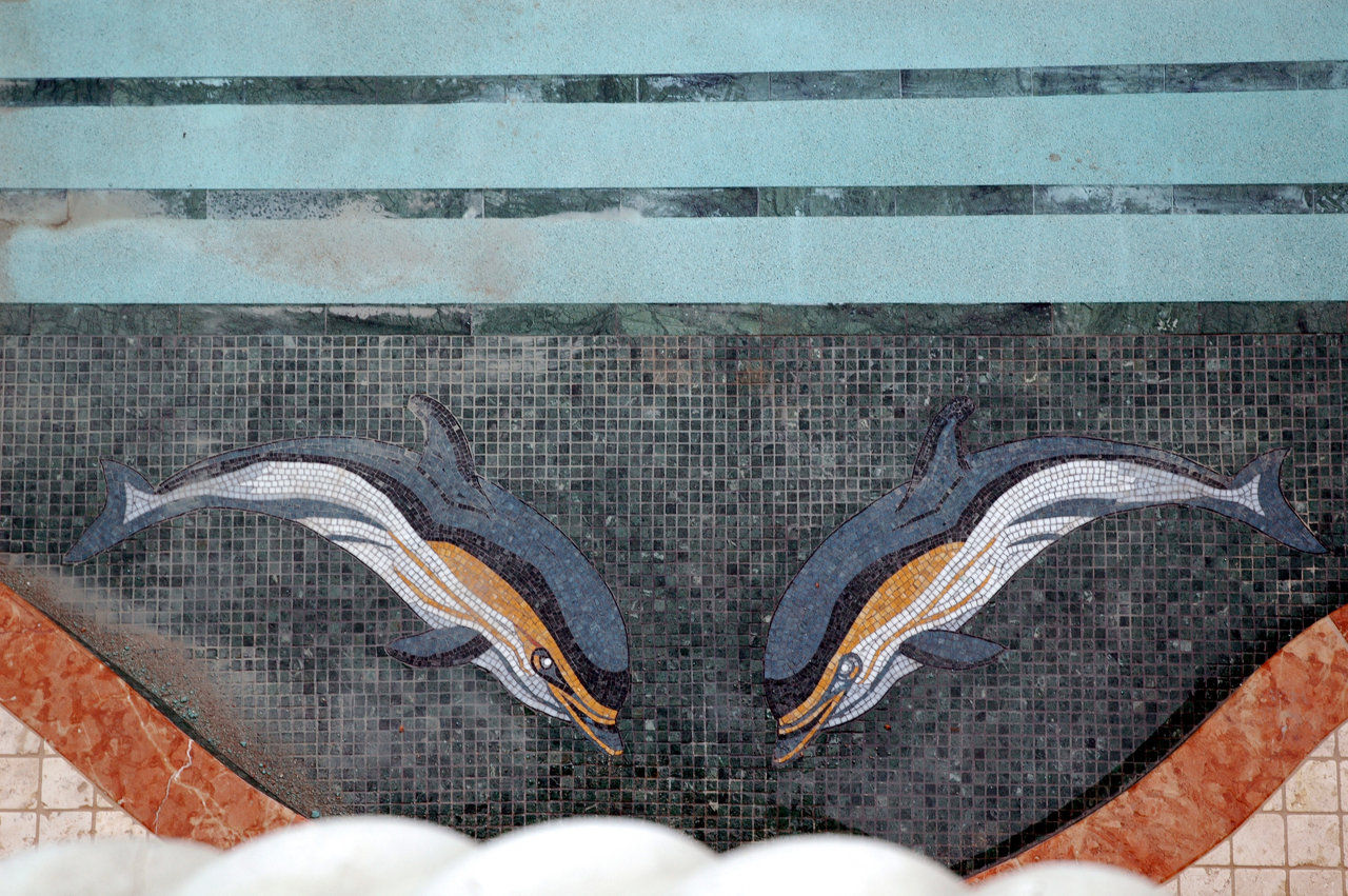 Flipper (marble pool mosaic)