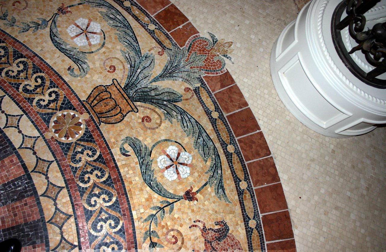 wings (marble mosaic)
