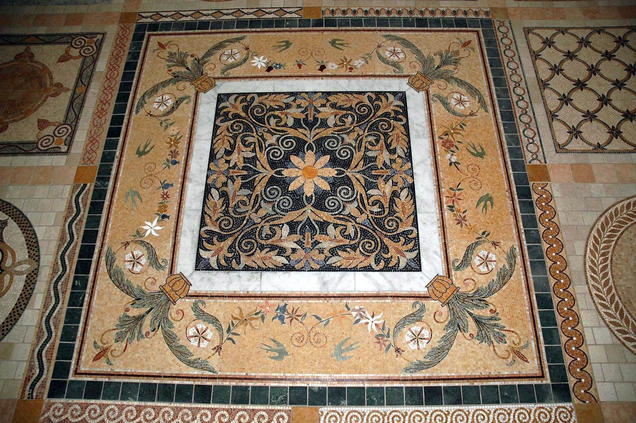 four season (marble mosaic)