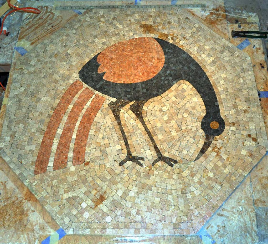 Navajo (marble mosaic)