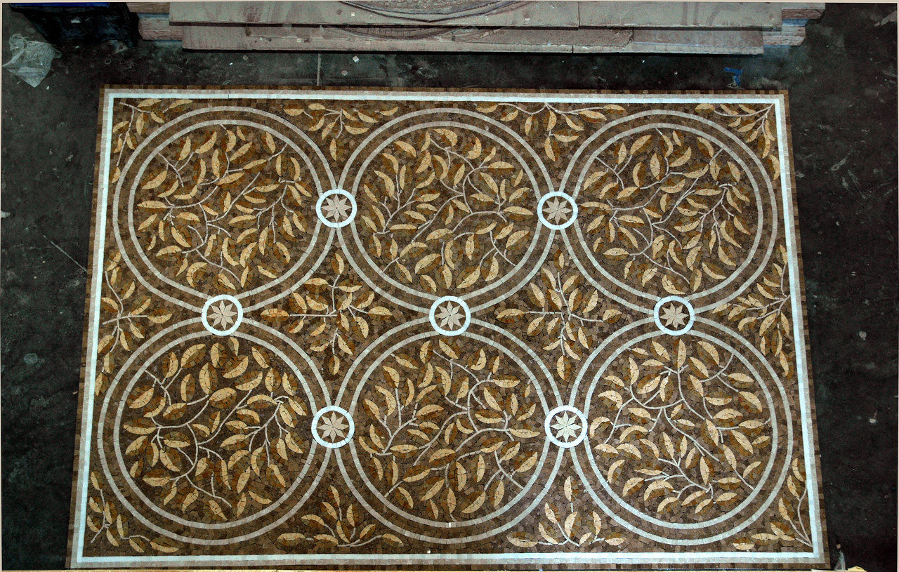 goldleaves (marble mosaic)