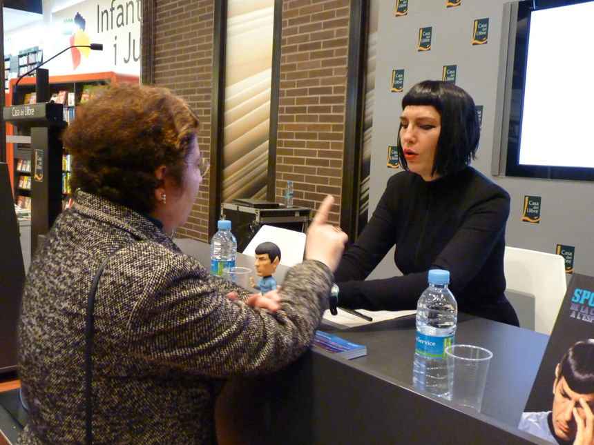 Book presentation Spock i jo.