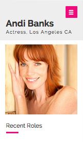 Actress Resume