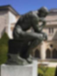 """Rodin, """"Le Penseur"""", 1903."""