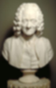 Houdon, buste de Voltaire