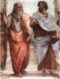 """Raphaël, """"Ecole d'Athènes"""", 1509."""