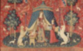 La Dame à la licorne: tapisserie