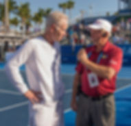 CF with McEnroe on court Finale DBO 2018