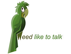 weed like to talk logo