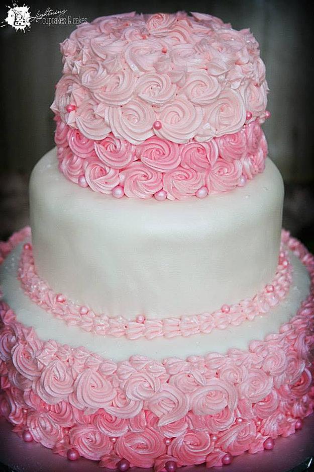 Wedding Cakes Portland Rose Style Buttercream