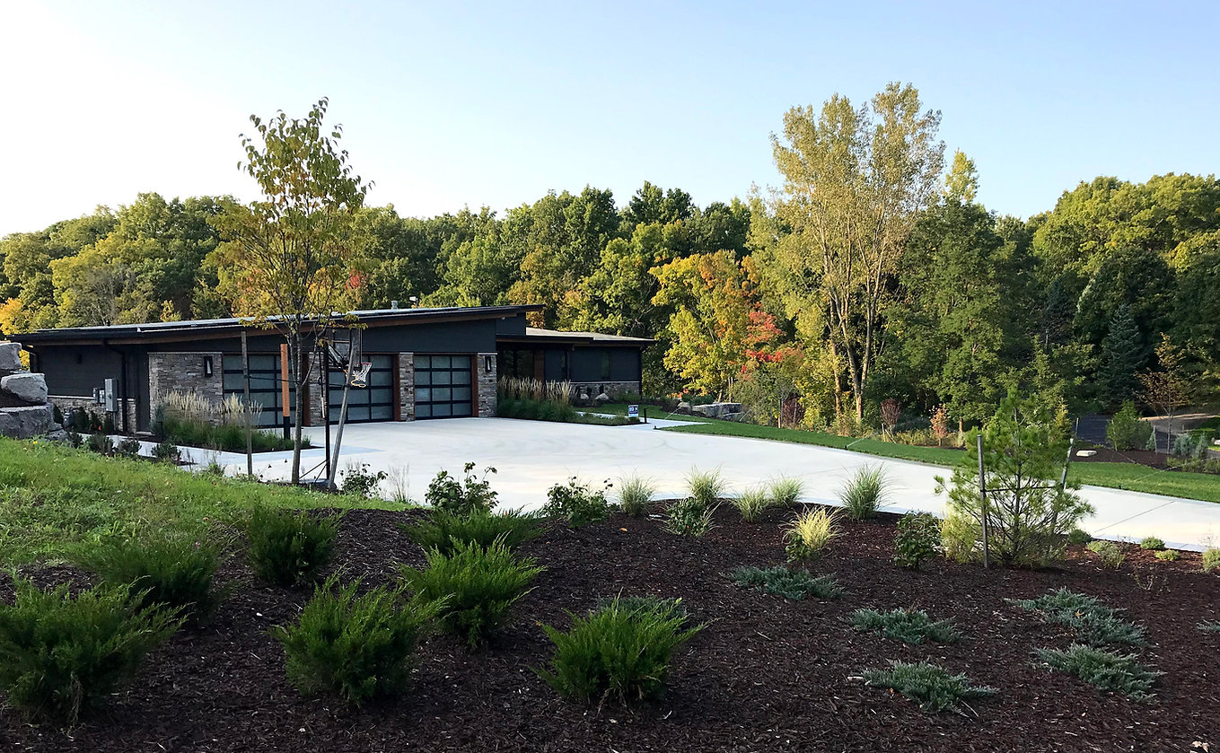 Cascade Residence, a project that capitalizes on the property's natural features, and promotes indoor/outdoor living.
