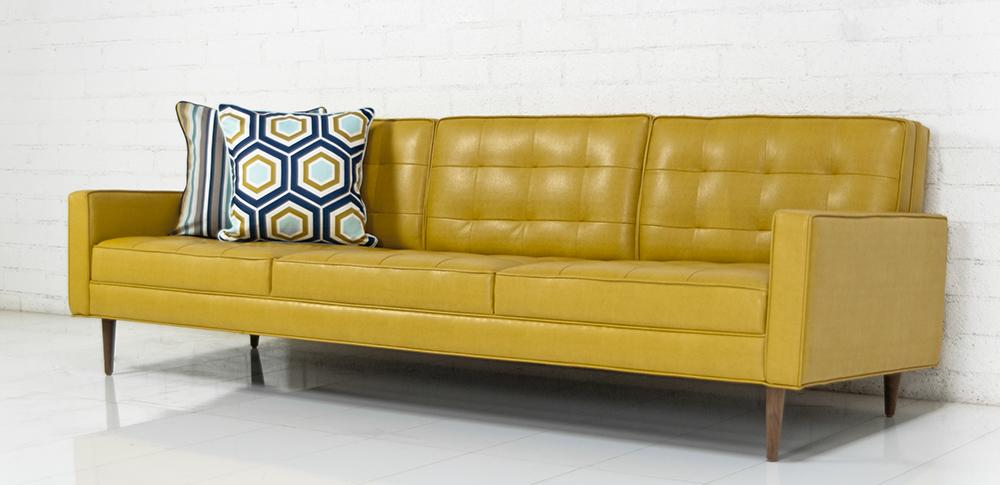 Retro Leather Sofas Rooms