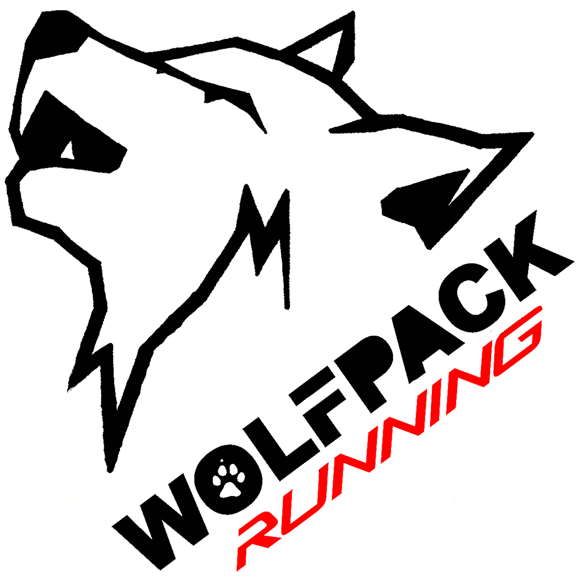Cool Wolf Pack Logo