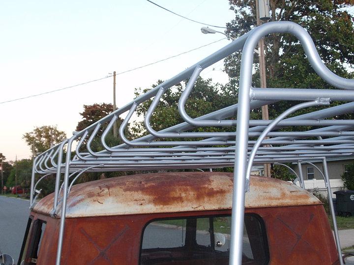 Bullidriver Steel Works Vw Roof Racks And Volkswagen Parts
