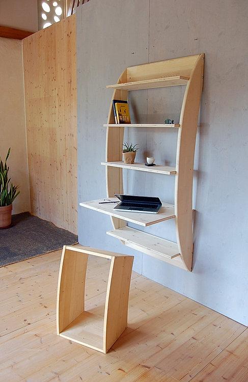 Argdesign mobili naturali bio ecologici in legno di cirmo - Mobili in abete massiccio ...
