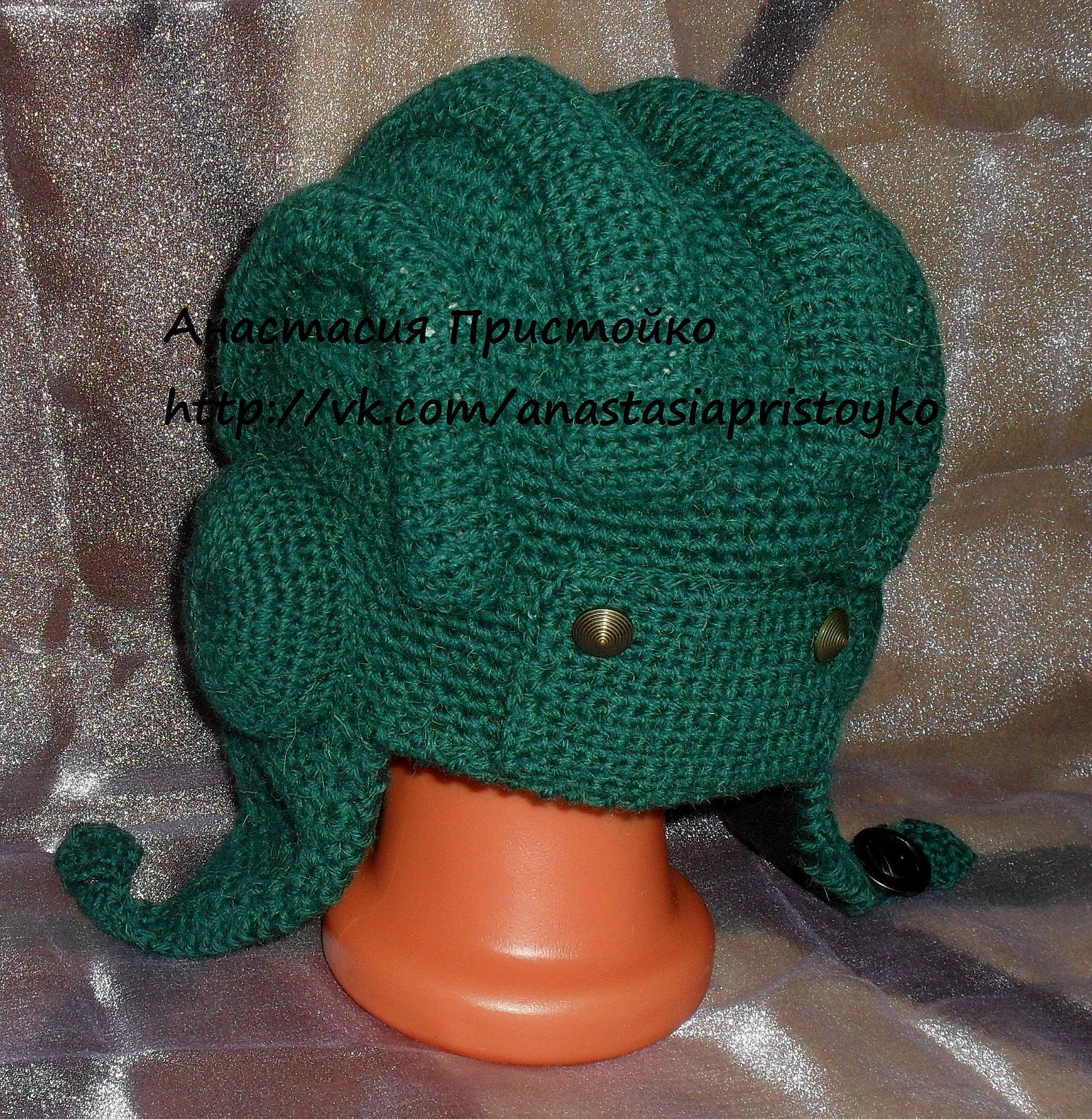 Вязание для мальчиков шапочки шлема для