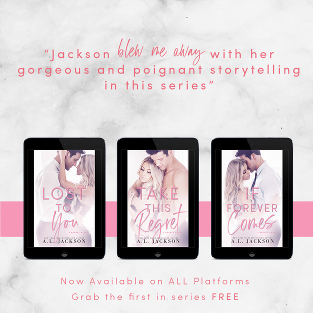 #ReRelease ~ THE REGRET SERIES  by A.L. Jackson ~ #SeriesSale #Giveaway @aljacksonauthor