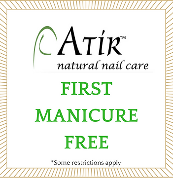 atir natural nail care clinic | first time free