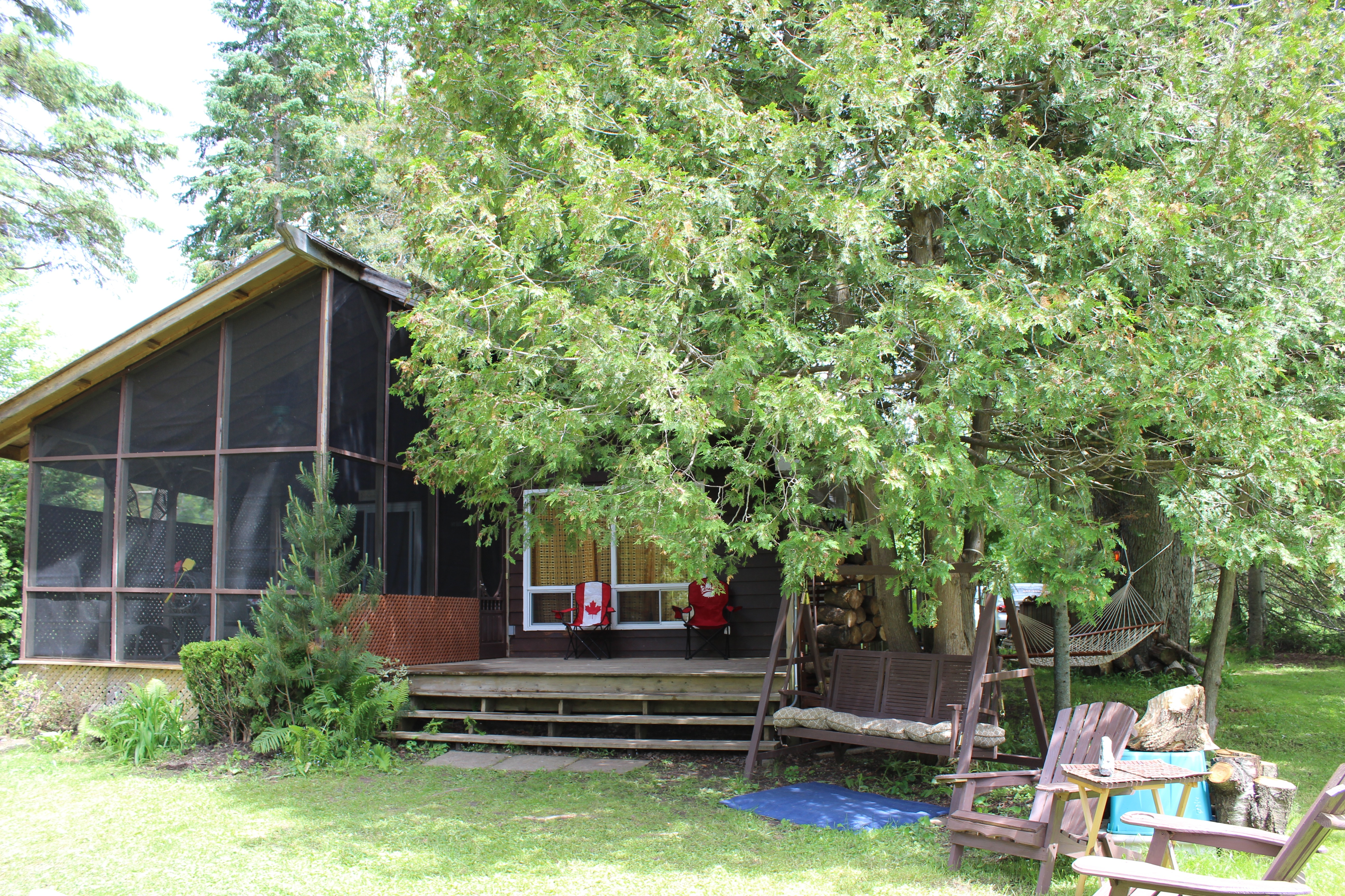 Kawartha lakes cottage rental for Getaway cottage