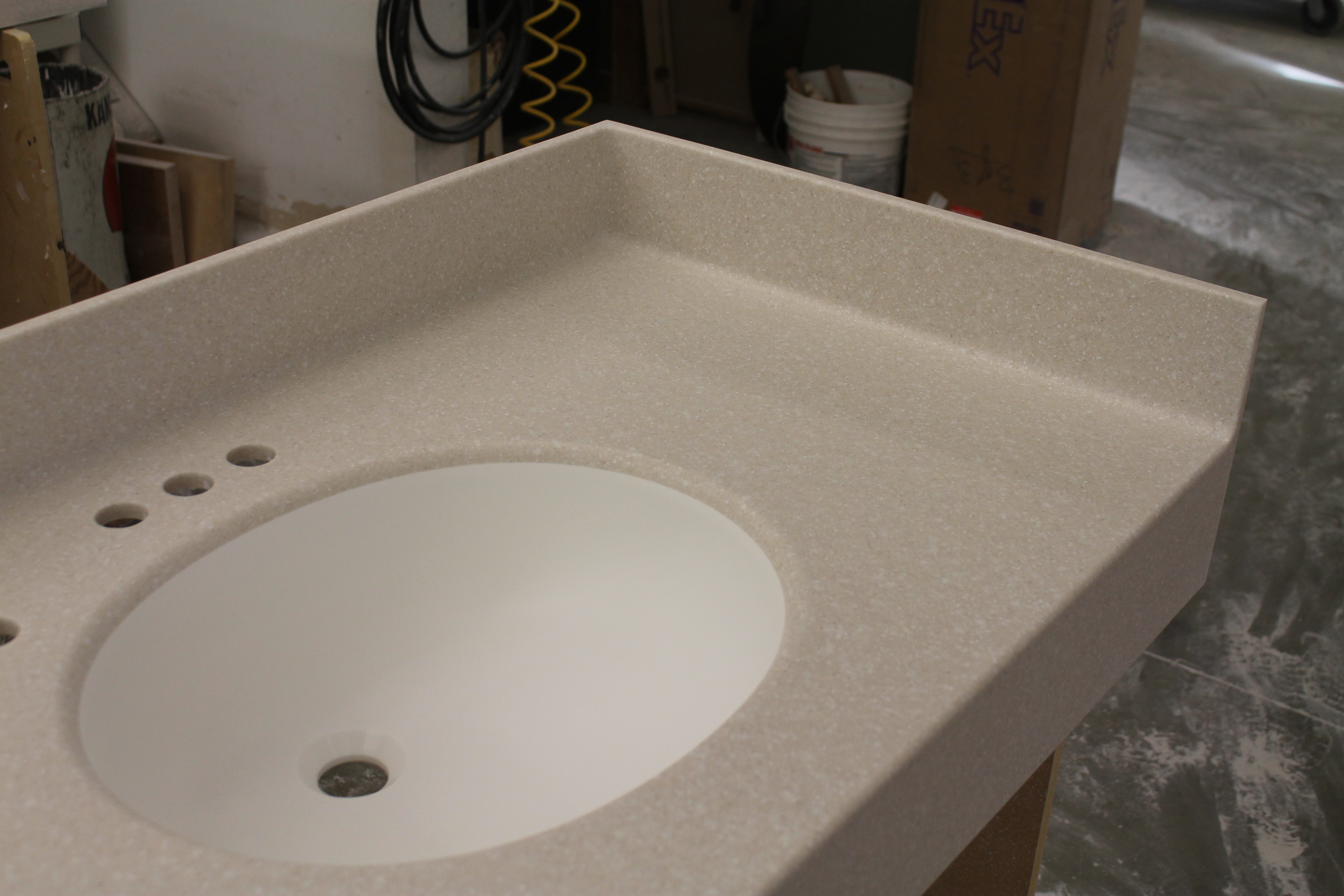 Seamless sinks from countertops by starian in connecticut for Seamless quartz countertops