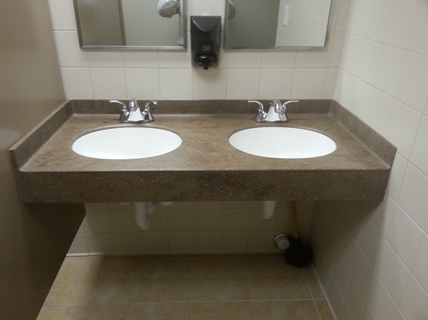 Ada compliant countertops by starian for Ada compliant bathroom sink