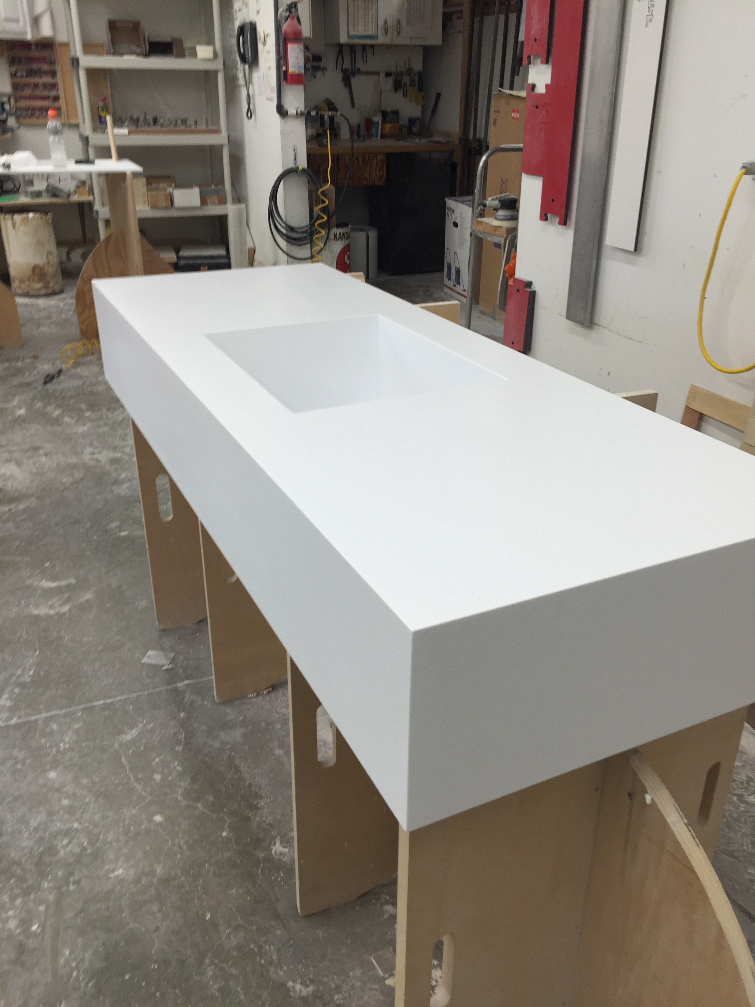 The Seamless Look Of Custom Corian Countertops By Starian