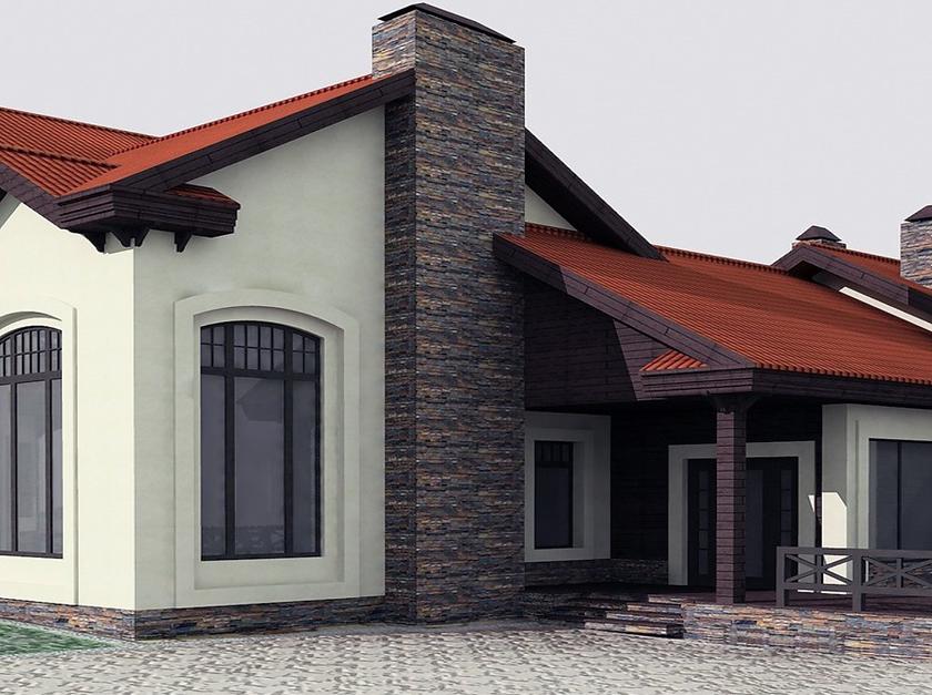 Отделка фасадов декоративной штукатуркой цена