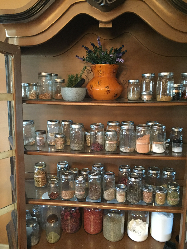 Storing & Creating Your Herbal Medicine Cabinet   Live Life Magically