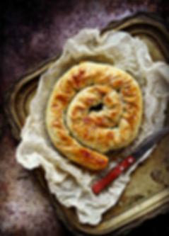 phyllo meat pie